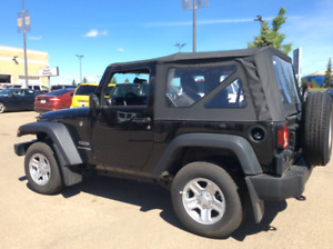 For Sale - 2018 Jeep Wrangler JK Sport: $24,000  ONLY - 305 KMs