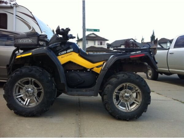 Used 2011 Can-Am outlander 800 xtp