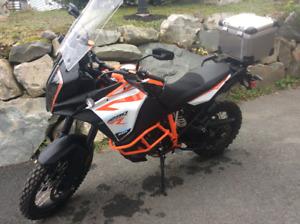 KTM 1290 adventure bike