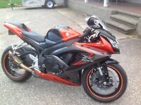2008 GSXR 750. 6000 OBO. MAYBE TRADE.