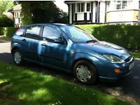 Ford focus 1.6 LX 12 Months Mot Low Millage 64000