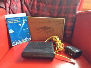 Modem cable Technicolor TC4300 Docsis 3.0 Teksavvy, Ebox, VMedia