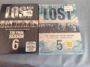 LOST SEASONS 5 AND 6 BOTH SEALED