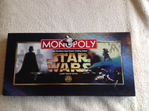 Star Wars Monopoly Classic Trilogy Edition