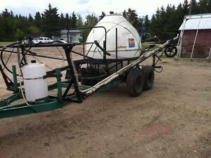 Jet stream sprayer
