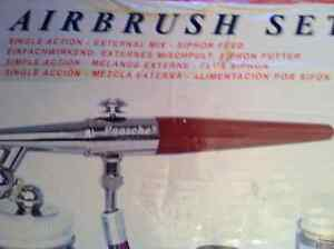 PAASCHE AIRBRUSH SET MODEL# H SET BRAND NEW Cambridge Kitchener Area image 2