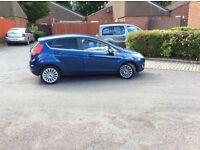 ✅IMMACULATE CONDITION FORD FIESTA 1.4 TDCI TITANIUM-TOP SPEC IN FORD!, BLUE, ,