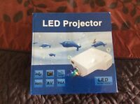 LED Projector and screen