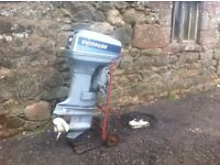 Evinrude 50hp outboard + remotes&cables. Suit fishing boat. Requires attention. trailer, jet ski etc