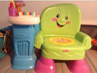 Fisher price musical/learning chair.