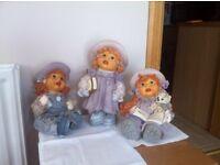 3 Girl Ornaments