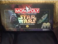 Star Wars monopoly 20 th collectors edition