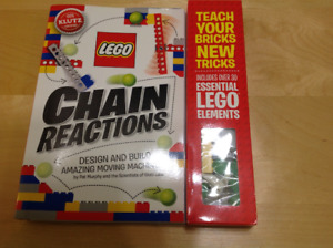 Lego Chain Reactions Kit by Klutz - Brand new