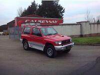 24/7 Trade sales NI Trade Prices for the public 1999 Mitsubishi Shogun 2.8 GLS Red over Silver