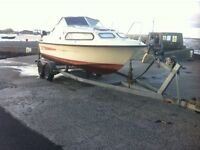 Twin axle boat trailer up to 28ft poss yacht