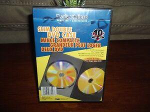 Slim Double DVD Case