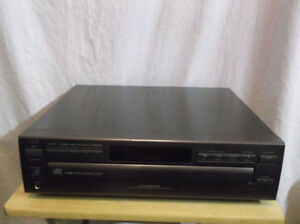 JVC XL-F207 5 Disc Compact Disc Automatic Changer CD Player