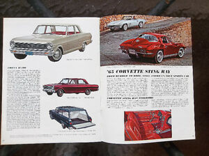 1965 Chevrolet dealer showroom catalog ..... all models London Ontario image 6
