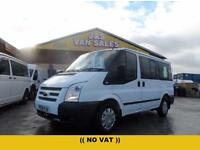 2012 12 FORD TRANSIT TOURNEO MINIBUS SWB TREND ONLY 51000 MLS (( NO VAT TO PAY