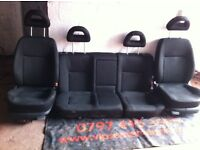 Vw bora 2002 model rear and front seat