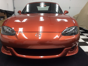 2005 Mazda MAZDASPEED MX-5 Miata Convertible LAVA ORANGE MICA