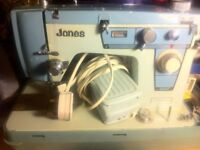 (Sold) Jones domestic sewing machine