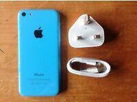 IPHONE 5C 16GB BLUE ON VODAPHONE NETWORK