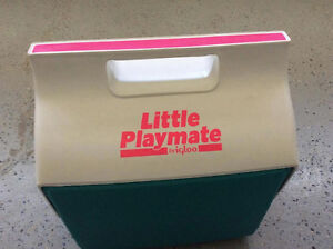 Vintage Little Playmate Igloo Cooler