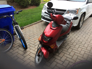 Scooter rouge A1