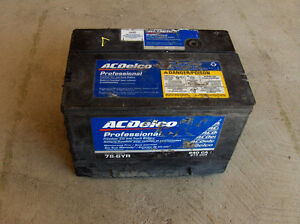 Free pick up and recycling of your old car/truck battery.