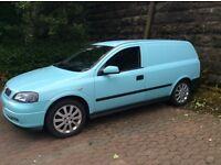 Astra van 1.7 dti 2002 p/x swap
