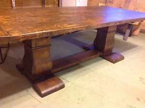 Royal Trestle table on Sale from our Showroom NO TAX