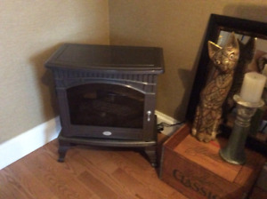 Electric Franklyn style fire place for sale