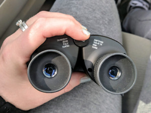 Binoculars with case in EUC and delivery