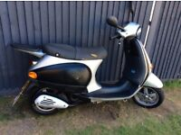 Vespa et2 50cc one year mot 395 ono