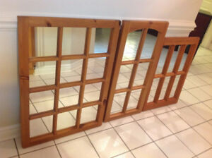 Decorative Antique Pine Mirrors