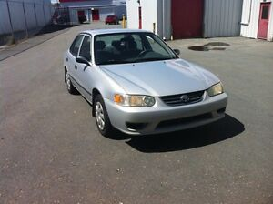 2002 Toyota Corolla plus CE moving must sell