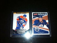 Hall and Omark rookie cards - mint!!! - Won as a prize