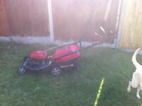 Mountfield sp534 petrol lawnmower self drive with box