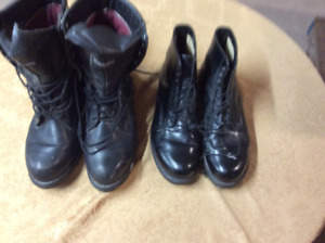 Boots, military style size 12