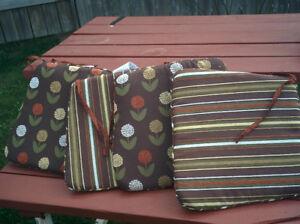 Four Chair Cushions