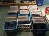 Vinyl records, .50 each or 25 for $10