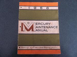 1956 Mercury shop manual London Ontario image 1