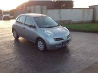 24/7 Trade sales NI trade prices for the public 2004 Nissan micra 58.000 miles full mot