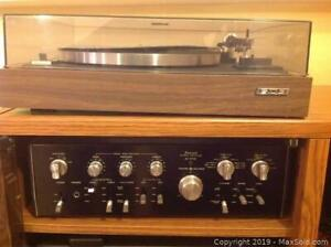 Electronics Stereo Turntable And Amplifier A