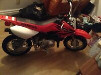 2005 Crf50f $900 or best offer perfect Christmas gift runs mint