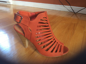 Awesome Orange Sandals