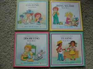 """4 """"Help Me Be Good"""" books by Joy Berry London Ontario image 1"""