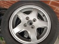 "Honda Civic 14"" alloys"
