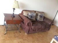 4 bedroom pieces+Sofa+TV stand+table+wooden partition for SALE